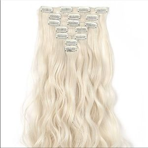 """❤️ 20"""" NEW Hair Extensions PLATINUM *NEW*"""